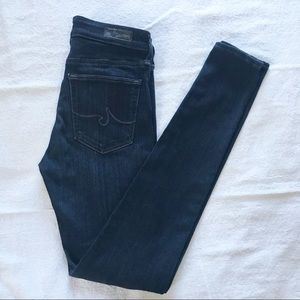 Ag Adriano Goldschmied Jeans - Sold AG The Farrah Skinny High Rise Stretch Jeans